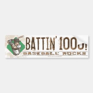 ¡Battin 1000! Bumpersticker Pegatina Para Auto