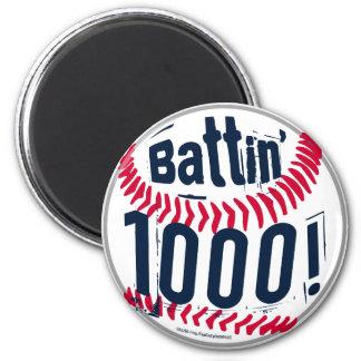 Battin' 1000! Magnet