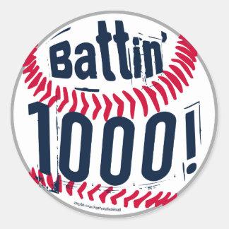 ¡Battin 1000! Pegatina