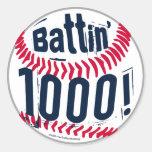Battin' 1000! Sticker