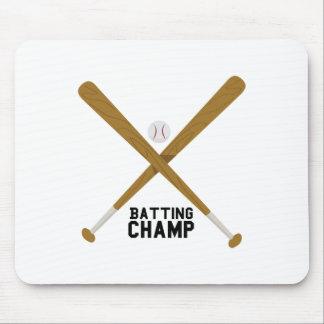 Batting Champ Mouse Pads