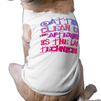 Batting clean-up this afternoon is the Lab Tech Dog Tee Shirt