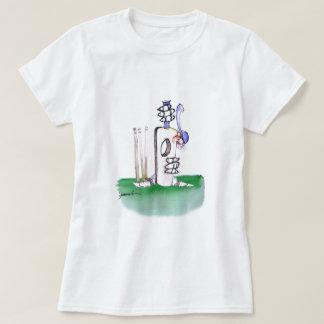 BATTING LESSON, tony fernandes T-Shirt