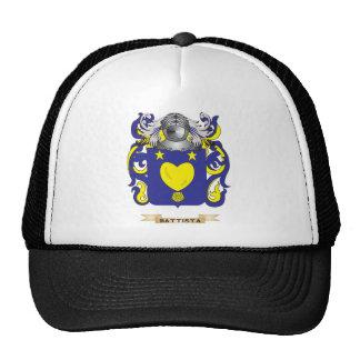 Battista Coat of Arms (Family Crest) Mesh Hats