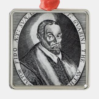 Battista Guarini, frontispiece to 'Il Pastor Metal Ornament