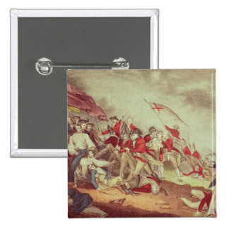 Battle at Bunker's Hill 2 Inch Square Button