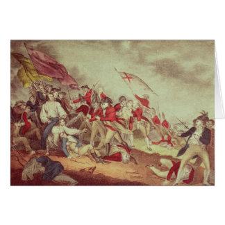 Battle at Bunker's Hill Card