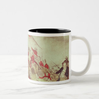 Battle at Bunker's Hill Two-Tone Coffee Mug