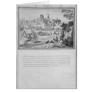 Battle at Porte Sainte-Antoine, 2nd July 1652 Card