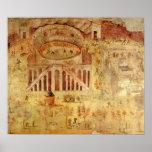 Battle at the Amphitheatre Print