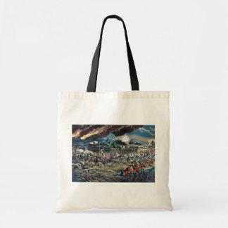 Battle at the machine works by Kasai,Torajirō Canvas Bags