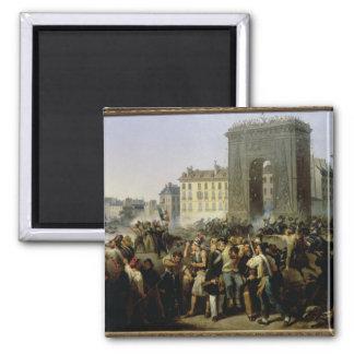 Battle at the Porte Saint-Denis, 28th July 1830 Magnet