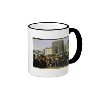 Battle at the Porte Saint-Denis, 28th July 1830 Coffee Mug