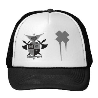 battle axe warriors, drippy x trucker hat