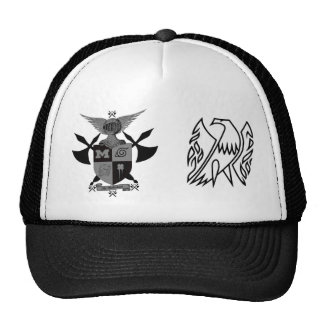 battle axe warriors, firebird trucker hat