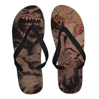 Battle Berzerker Balto Flip Flop sandals