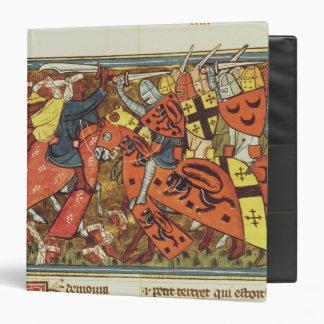 Battle between Crusaders and Moslems Binder