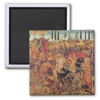 Battle between Darius  and Alexander the Great Magnet