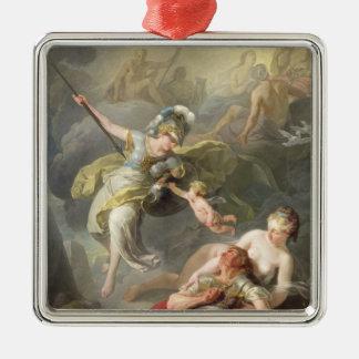 Battle Between Minerva and Mars, 1771 Metal Ornament