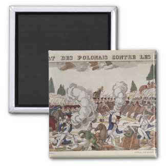 Battle between Polish and Russian Troops, 1831 Magnet