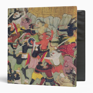Battle Between the Armies of Rama and Ravana Binder