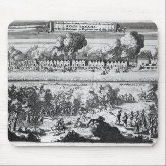 Battle between the Buccaneers Mouse Pad