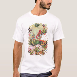 Battle between the forces of Persia and Turan T-Shirt