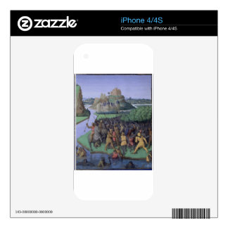 Battle between the Maccabees and the Bacchides iPhone 4 Skins
