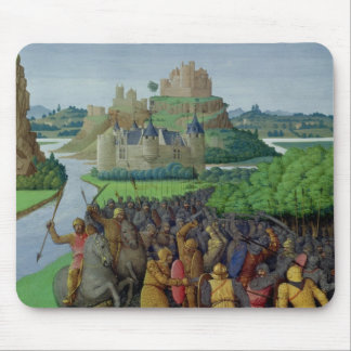 Battle between the Maccabees and the Bacchides Mouse Pad