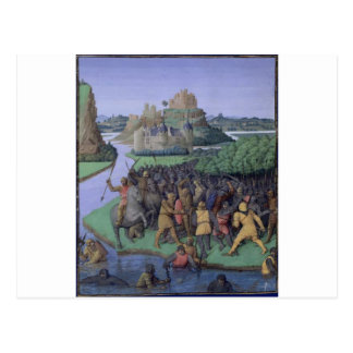 Battle between the Maccabees and the Bacchides Postcard