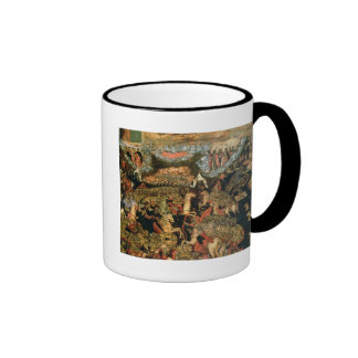 Battle between the Russian and Tatar troops Coffee Mugs