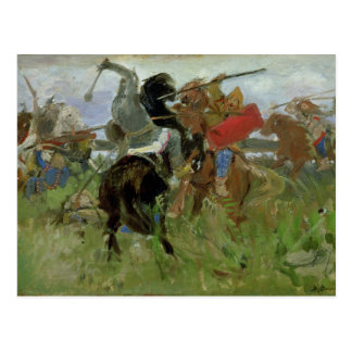 Battle between the Scythians and the Postcard