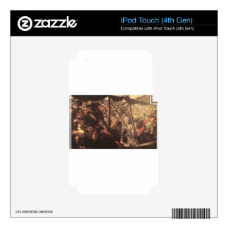 Battle between Turks and Christians by Tintoretto iPod Touch 4G Skin