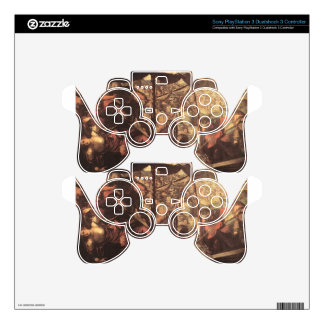 Battle between Turks and Christians by Tintoretto PS3 Controller Decal