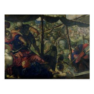 Battle between Turks and Christians, c.1588/89 (oi Postcard