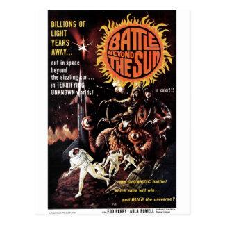Battle Beyond the Sun Postcard