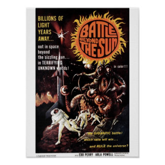 Battle Beyond the Sun Poster