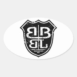 Battle Born Box Lacrosse Merchandise Sticker