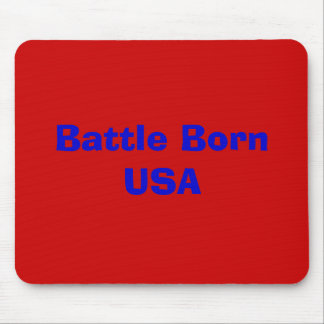 Battle Born USA Mouse Pad