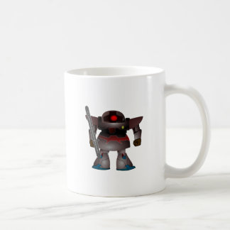 Battle Bot by Chillee Wilson Classic White Coffee Mug