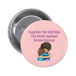 Battle Breast Cancer Pinback Buttons