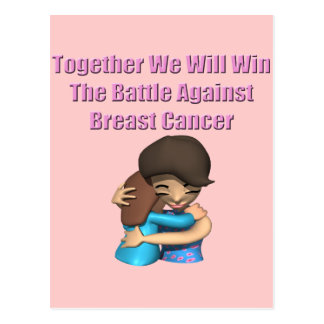 Battle Breast Cancer Post Card