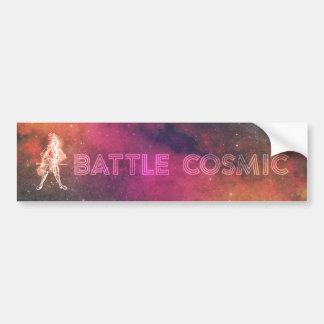 Battle Cosmic Bumper Sticker