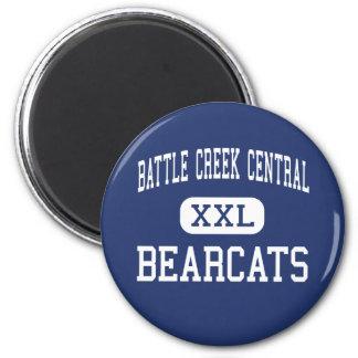 Battle Creek Central - Bearcats - Battle Creek 2 Inch Round Magnet