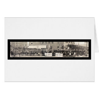 Battle Creek Delegates Photo 1915 Greeting Card
