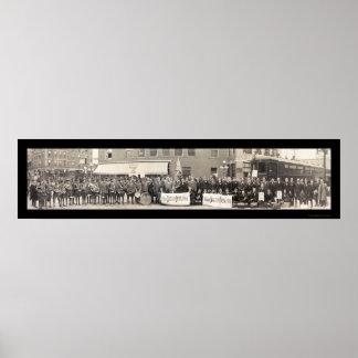 Battle Creek Delegates Photo 1915 Poster