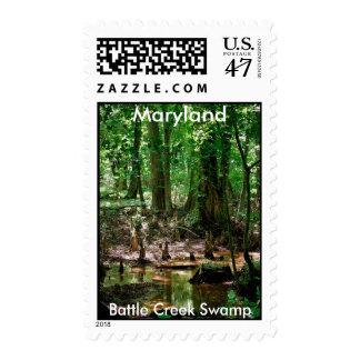 Battle Creek Swamp, Maryland postage stamp
