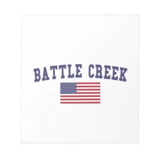 Battle Creek US Flag Notepads