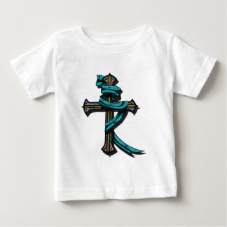 Battle Cross Colored Baby T-Shirt