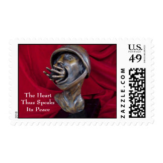 Battle Cry Postage Stamp